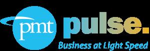 PMT Pulse logo: Business at Light Speed.